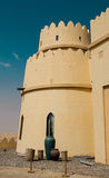 Hôtel de luxe dans Abu Dhabi Desert images stock