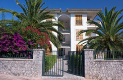 Hôtel de luxe dans Majorca Photographie stock