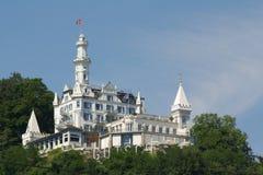 Hôtel de luxe en Suisse Images libres de droits