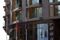 Hôtel de luxe norvégien le voleur Photos libres de droits
