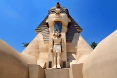 Hôtel de Luxor à Las Vegas Images libres de droits