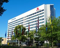H?tel de Marriott photographie stock