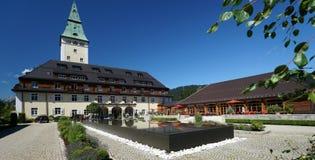 Hôtel de palais d'Elmau Photographie stock libre de droits