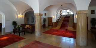 Hôtel de palais d'Elmau Images stock