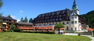 Hôtel de palais d'Elmau Photo libre de droits