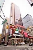 Hôtel de plaza de tête sur le Times Square Images stock