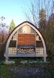 Hôtel de pollinisateur photo stock