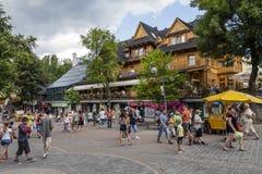 Hôtel de Sabala dans Zakopane Photos stock