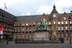 Hôtel de ville à Dusseldorf Photo libre de droits