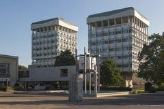 Hôtel de ville à la marne, Allemagne photo libre de droits