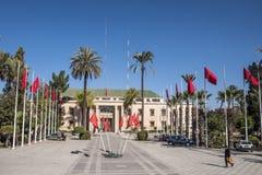 Hôtel de ville à Marrakech photo stock