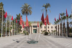 Hôtel de ville à Marrakech Photographie stock libre de droits