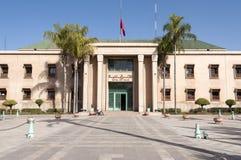 Hôtel de ville à Marrakech, Maroc Image libre de droits