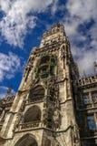 Hôtel de ville à Munich Image libre de droits