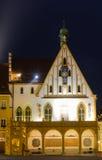 Hôtel de ville d'Amberg Photo libre de droits