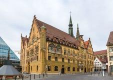 Hôtel de ville d'Ulm (Rathaus) - Allemagne, Baden-Wurttemberg image libre de droits
