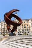 Hôtel de ville dans la ville de Bilbao Photographie stock libre de droits