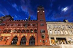 Hôtel de ville de Bâle Photographie stock libre de droits