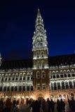 Hôtel de ville de Bruxelles photos stock