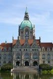 Hôtel de ville de Hanovre Images stock