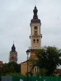 Hôtel de ville de Kamianets-Podilskyi l'ukraine images stock