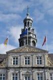 Hôtel de ville de Maastricht Images libres de droits