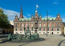 Hôtel de ville de Malmö Photos stock