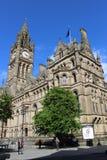 Hôtel de ville de Manchester au centre de Manchester City Image libre de droits