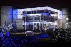 Hôtel de ville de Mioveni Images libres de droits