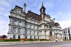 Hôtel de ville de Montréal Photos libres de droits