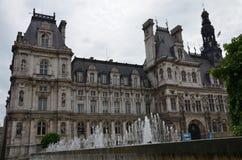 Hôtel de ville de Paris Royalty Free Stock Images