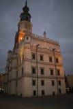 Hôtel de ville de Poznan Photographie stock