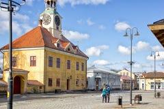Hôtel de ville de Rauma Photographie stock