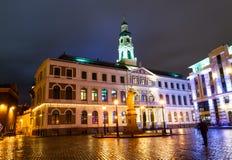Hôtel de ville de Riga Images libres de droits