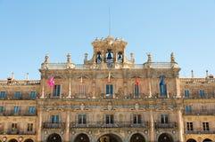 Hôtel de ville de Salamanque Image stock