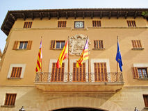 Hôtel de ville de Soller, Majorca, Espagne Image libre de droits