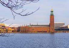 Hôtel de ville de Stadshus - Stockholm Image stock