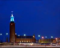 Hôtel de ville de Stockholm images libres de droits