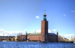 Hôtel de ville de Stockholm Photographie stock libre de droits