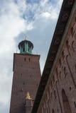 Hôtel de ville de Stockholm Stockholm, Suède, Scandinavie, l'Europe Image stock