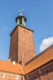 Hôtel de ville de Stockholm Stockholm, Suède, Scandinavie, l'Europe Photos libres de droits