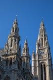 Hôtel de ville de Vienne images libres de droits