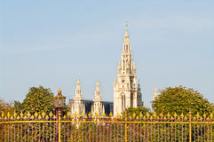 Hôtel de ville de Vienne Images stock