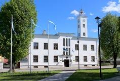 Hôtel de ville de Viljandi Images stock