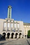 Hôtel de ville de ville nouvelle d'Ostrava images libres de droits