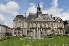 Hôtel de ville des visites Images stock