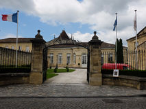 Hôtel de ville Emilion sant dans les Frances images stock