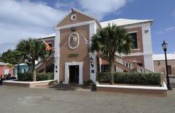 Hôtel de ville en Bermudes Photographie stock