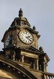 Hôtel de ville et horloge, Lancaster, Lancashire Photos libres de droits