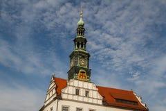 Hôtel de ville et x28 ; Rathaus& x29 ; de Pirna, la Saxe Photo libre de droits